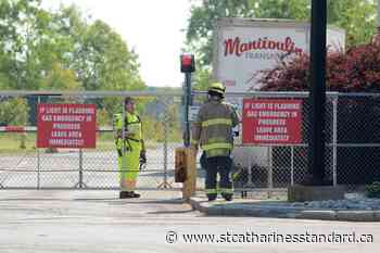 Photos: Alarms sound at Vale's Port Colborne Refinery for reported chemical leak; believed to be false alarm - StCatharinesStandard.ca