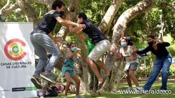 El arte y la cultura se toman los parques de Barranquilla - El Heraldo (Colombia)