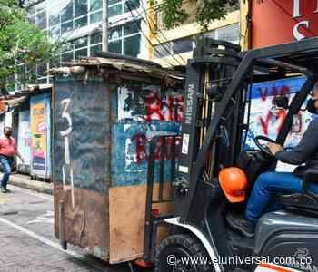 Comenzó reubicación de vendedores estacionarios del Centro de Barranquilla - El Universal - Colombia
