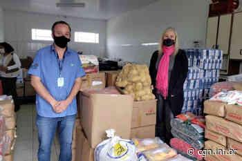 Famílias de Ponta Grossa recebem alimentos arrecadados com distribuição de mudas nativas - CGN