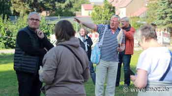 Landesgartenschau 2022: Führungen über das Laga-Gelände in Beelitz mit Bürgermeister und LAGA-Geschäftsführer Bernhard Knuth - moz.de