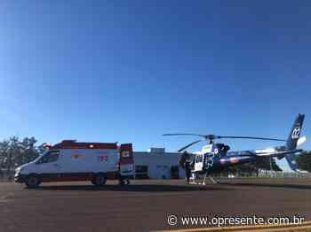 Rondonense vítima de queimaduras é transferido para hospital em Londrina - O Presente
