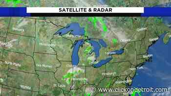 Metro Detroit weather: Increasing clouds with showers and thunderstorms - WDIV ClickOnDetroit