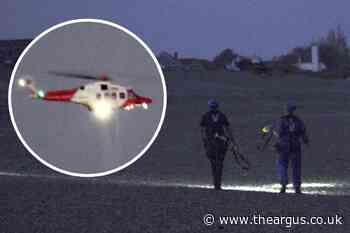 Search for missing kayaker Shane Davies off Selsey and Pagham
