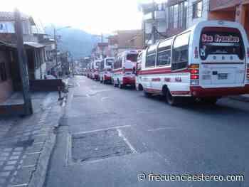Paro de transportadores en Itagüí - Ultimas Noticias Frecuencia Estéreo