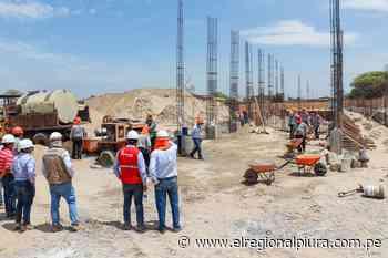 Reconstrucción de IE 14791 y Jorge Basadre Grohmann en Sullana beneficiará a más de 1700 estudiantes - El Regional