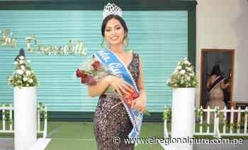 Sullana: Kate Rivera Ugarte es elegida 'Srta. Querecotillo 2021' - El Regional