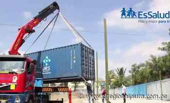 Nueva planta de oxígeno llega a Sullana - El Regional