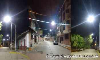 Sullana: Enosa continúa con plan de mejoramiento del alumbrado público con luminarias LED - El Regional
