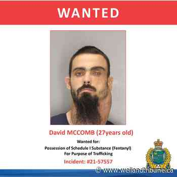 Canada-wide warrant issued for St. Catharines man wanted on drug-trafficking charge - WellandTribune.ca