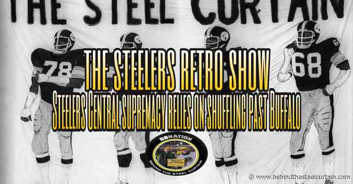 Podcast: Steelers Central supremacy relies on shuffling past Buffalo