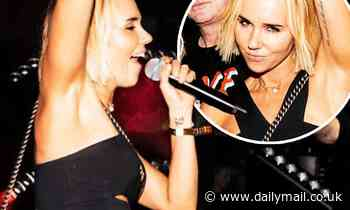 Pip Edwards storms the stage with Sneaky Sound System at gay dance party