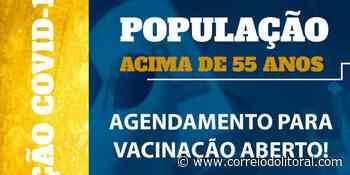 Guaratuba abre agendamento para vacinar pessoas com 55 + – Correio do Litoral - Correio do Litoral