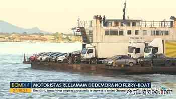 Após reclamações de demora na travessia no ferry-boat em Guaratuba, DER-PR multa empresa - G1