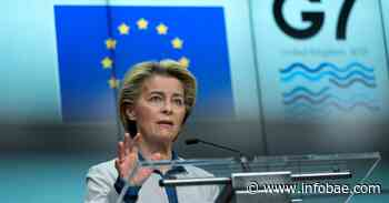 Ursula Von der Leyen quiere que la Unión Europea exporte 700 millones de vacunas a fin de año a través de la iniciativa COVAX - infobae