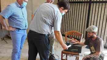 Romilly-sur-Seine: la capsule reprend sa place au sein de l'Église Saint-Martin - L'Est Eclair