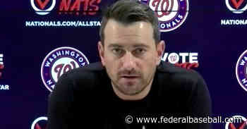 Washington Nationals place Daniel Hudson on 10-Day IL with right elbow inflammation... - Federal Baseball