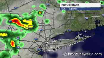 Overcast skies, chance for rain on Sunday for the Hudson Valley - News 12 Bronx