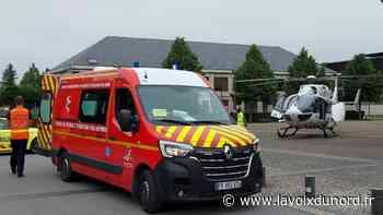 Avesnes-sur-Helpe: une femme renversée par une voiture, rue Cambrésienne - La Voix du Nord
