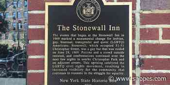 Did Judy Garland's Death Trigger the Stonewall Riots? - Snopes.com