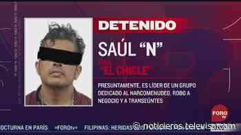 Cae en Veracruz 'El Chicle' buscado por narcomenudeo y robo - Noticieros Televisa