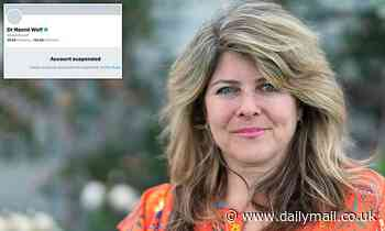 Feminist author Naomi Wolf refuses to backdown after being suspended from Twitter