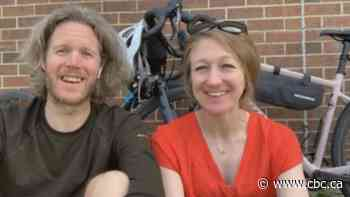 Riding out the pandemic: Couple cycled every street in Wallaceburg - CBC.ca
