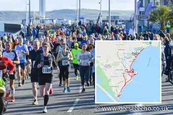 Weymouth Half Marathon TODAY: Full details and road closures - Dorset Echo