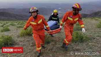 China marathon: Officials punished over runner deaths - BBC News
