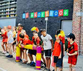 De Baloise Belgium Tour groet GO! De Groeiboog Jeuk - Het Belang van Limburg