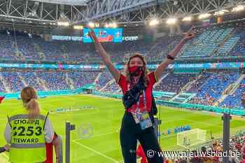 """Janne beleeft vuurdoop als Belgian Red Reporter ín het stadion: """"Dit was super"""""""