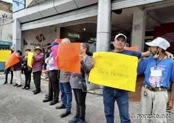 Habitantes de Misantla se manifiestan en el OPLE, no quieren al «Coyame» - NORESTE