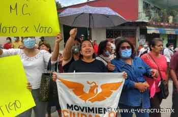 Toman consejo distrital de Misantla, rechazan a Candanedo de diputado - e-consulta Veracruz