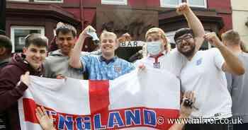 Eager England fans form 7am pub queues as fans soak up sun before Croatia opener