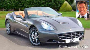 ¿Te gustaría comprarte el Ferrari California de Hugh Grant? - MARCA.com