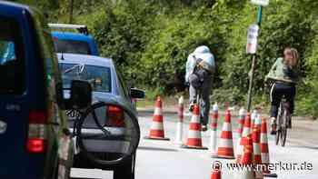 Auch in Olching soll es einen Pop-Up-Radweg geben - Merkur Online
