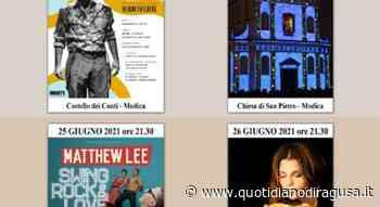 Mario Incudine sulle note di Modugno in concerto a Modica - Quotidianodiragusa.it