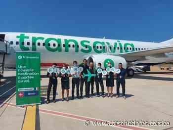 Transavia : décollage réussi pour les nouvelles lignes Bastia-Brest, Figari-Brest et Figari-Montpellier - Corse Net Infos