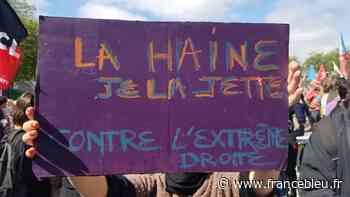 EN IMAGES - Entre 580 et 700 personnes réunies à Brest contre la montée de l'extrême droite - France Bleu