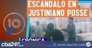 Escándalo en Justiniano Posse - Cba24n