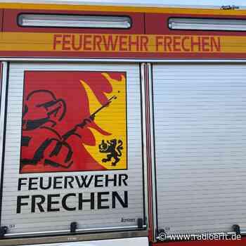 Frechen/Brühl: Feuerwehren löschen Scheune und Schuppen - radioerft.de