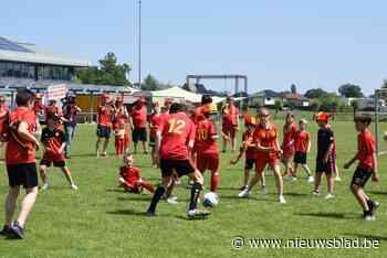 Lochristi kleurt rood voor challenge van Jan Vertonghen