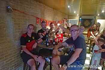 Overwinning Rode Duivels coronaveilig gevierd<BR />