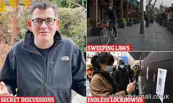 Covid-19 Victoria: Dan Andrews' secret plan to make far-reaching pandemic laws permanent
