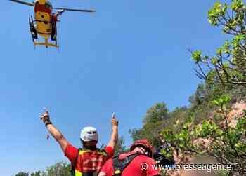 SAINTE MAXIME : Accident entre une moto et une voiture, le pilote évacué par hélicoptère - La lettre économique et politique de PACA - Presse Agence