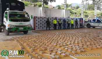 Millonario cargamento de droga es incautado en Roncesvalles, Tolima - Caracol Radio