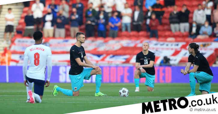 Why are footballers taking the knee?