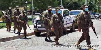 PNC realiza operativo en Chirilagua - La Prensa Grafica