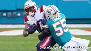 """Jerome Baker, Dolphins """"haven't really talked about"""" new contract"""