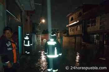 Atienden bomberos inundaciones en colonias y vialidades de la Angelópolis - 24 Horas El Diario Sin Límites Puebla